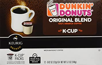 Dunkin Donuts KCups Original Flavor 96 Pack Amazoncom Grocery