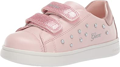 zapatos geox velcro rosa