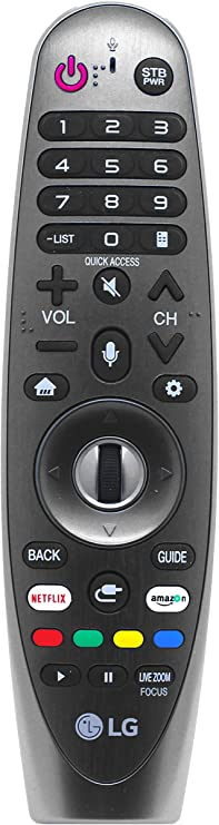 Mando a Distancia LG Magic Voice Original para LG 50UK6500PLA 49UK6300PLB 49SK800PLB 43UK6500PLA 43UK6300PLB 2019 2020 televisores OLED LED Inteligentes: Amazon.es: Electrónica