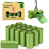 VanStar Biodegradable Scented Pet Waste Bags Thick Dog Waste Poop Bags with Dispenser, 16 Rolls, Total of 240