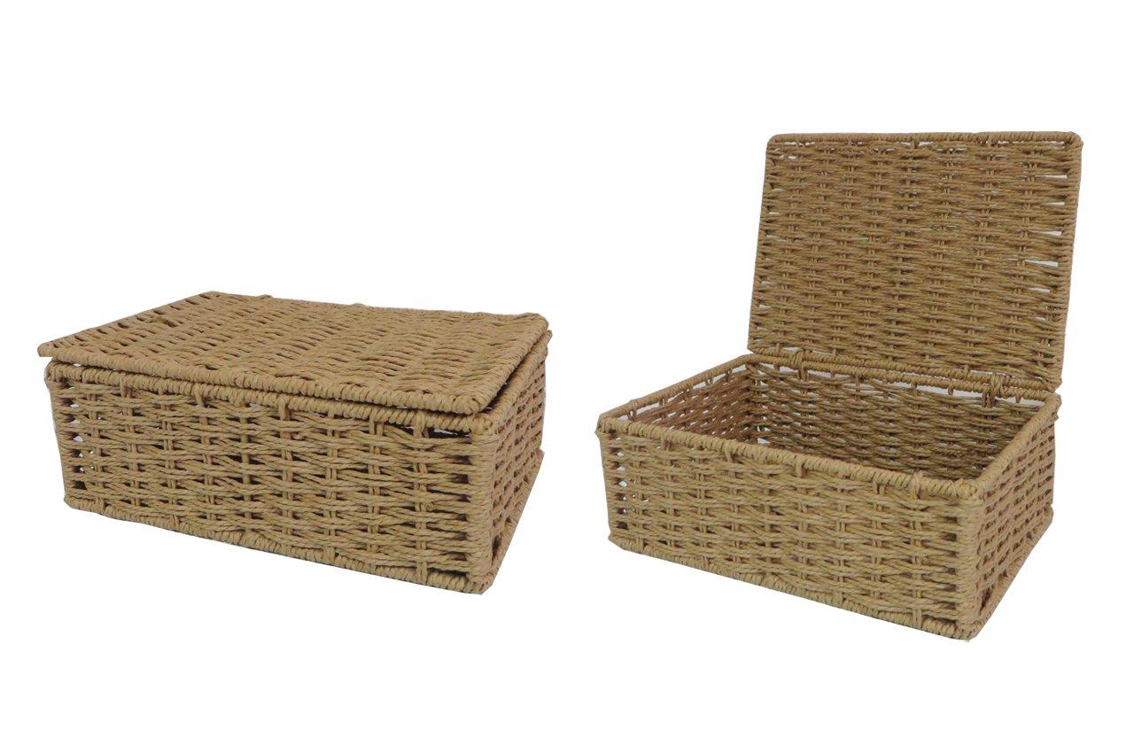 Arpan Storage Basket Hamper With Lid 11-412