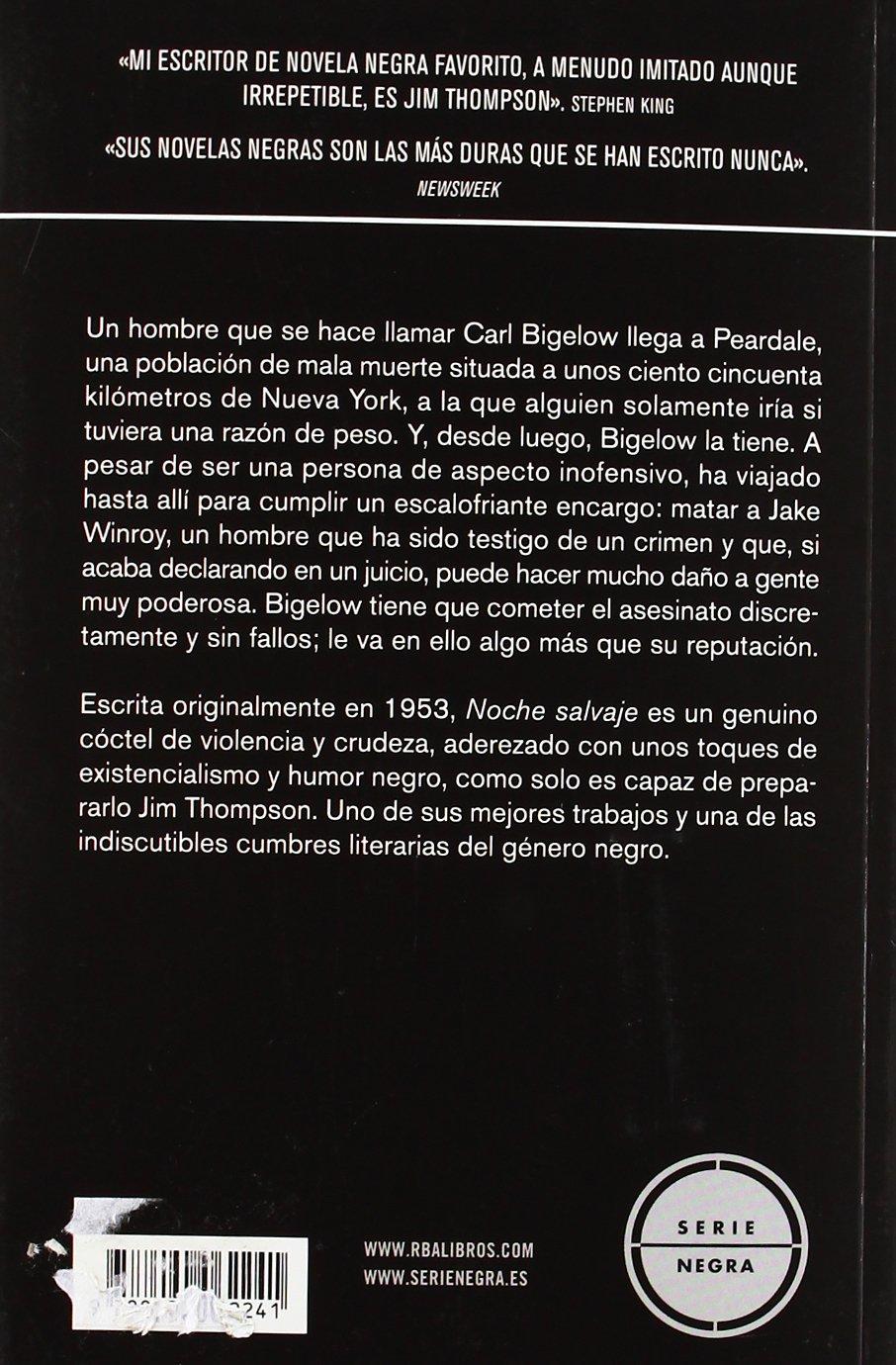 Noche Salvaje (Spanish Edition) (La genuina novela negra Black, 18)