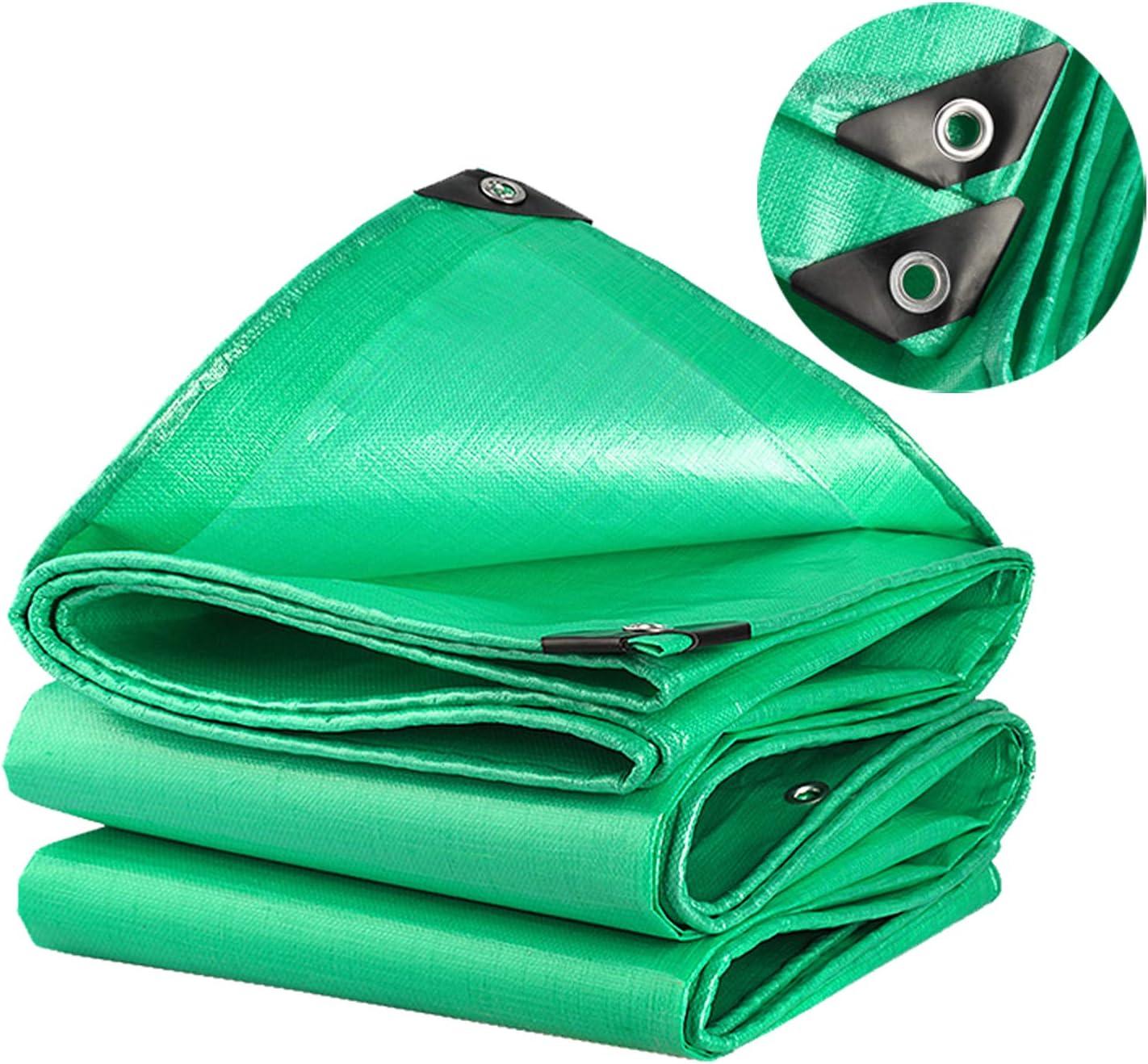 Tela cerata PE Impermeabile foglio di tela cerata Verde Tarp di qualit/à premium per campeggio esterno SOVIYAS Telo di tela cerata resistente 4m x 6m 13ft x19ft 4x 6 m,150g//m/²