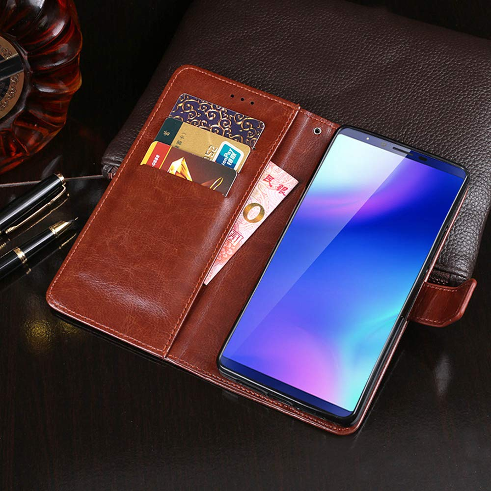 Amazon.com: Cubot X18 Plus Case, PU Leather Stand Wallet ...