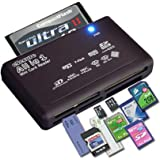 eSecure High Speed USB Card Reader for Digital Memory Cards - Wide Compatibility