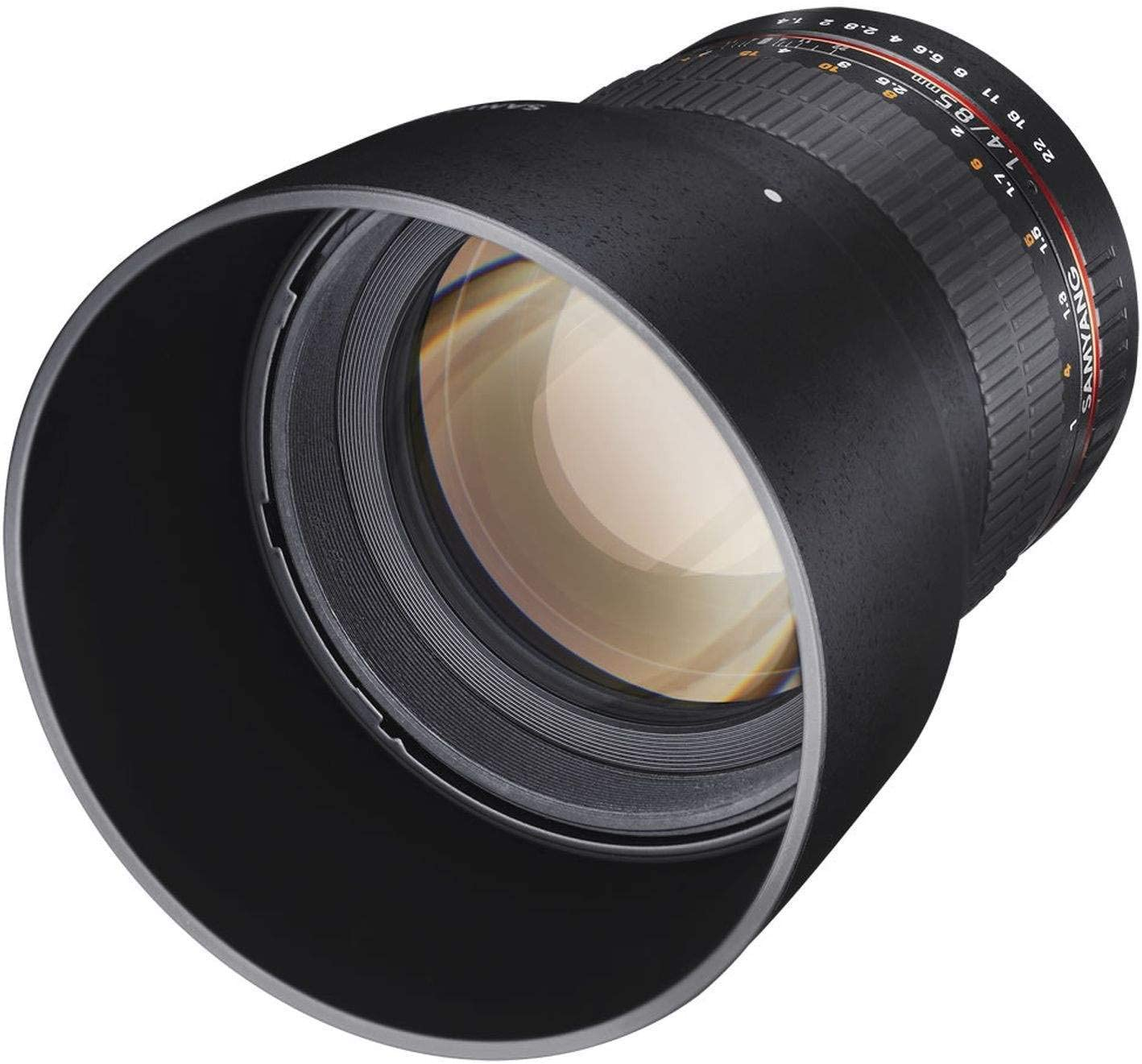 Samyang Mf 85mm F1 4 As If Umc Für Canon Ef Kamera