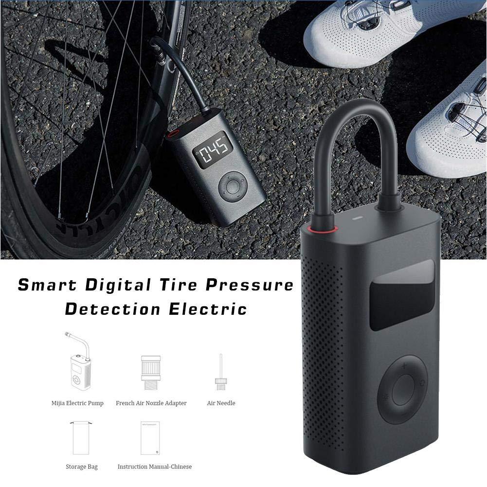 kaikki Portable Smart Digital Tire Pressure Detection Electric Inflator Pump for Xiaomi Mijia Bike Motorcycle Car Football