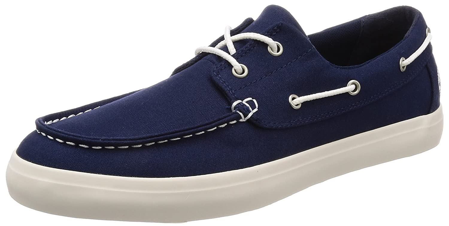 [ティンバーランド] Newport Bay 2 Eye Boat Oxford A1Q86 B078SXLRCK 13 D(M) US Black Iris Canvas