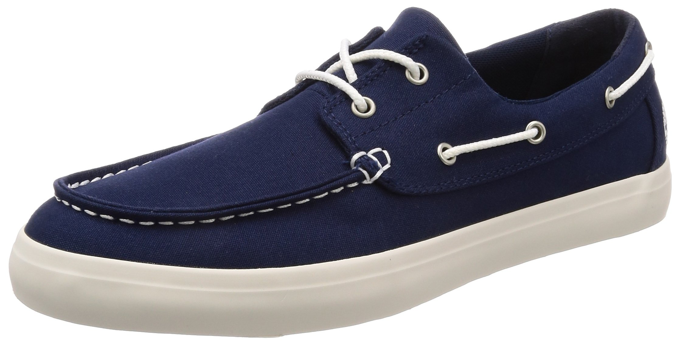 Timberland Men's Newport Bay Oxford Boat Shoes, Blue, 10.5 US
