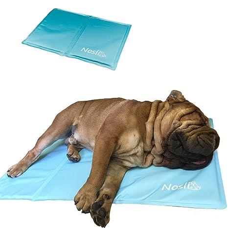 Alfombrilla de refrigeración de Nosli para perros, 2 colores, 5 tamaños (XS –
