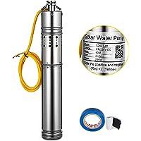 Moracle Bomba de Agua Solar para Fuentes de Jardín S242T-40 Bomba de Agua Solar 284W Bomba de Agua para Fuente 24V