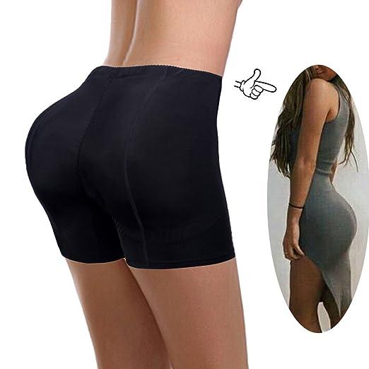eb1ddb99147ae FLORATA Women Padded Butt Lifter Booster Panty Body Shaper Enhancer ...