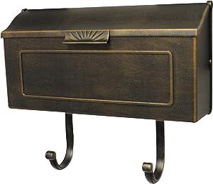 Special Lite Products SHH-1006-BRZ Horizon Horizontal Mailbox, Bronze