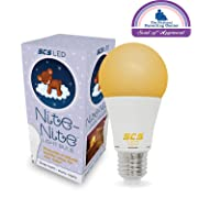 Nite-Nite Light Bulb. Natural Baby Sleep Aid. Promotes Healthy Sleeping Habits for Baby and Mother   Certified by The National Parenting Center.