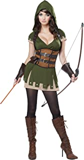 California Costumes Womenu0027s Miss Robin Hood Costume  sc 1 st  Amazon.com & Amazon.com: Dreamgirl Womenu0027s Robin Hood Costume: Clothing
