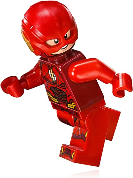 Official Lego Brand Minifigure Super Heroes The Flash