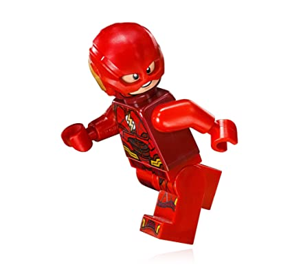 Amazoncom Lego Super Heroes Dc The Flash Minifigure 2017 Toys