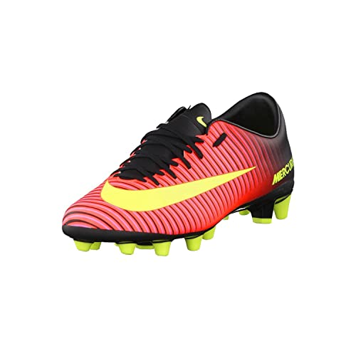 timeless design d7a44 3b0fa NIKE Mens Mercurial Victory VI AG-Pro Football Boots, Orange (Total  Crimson