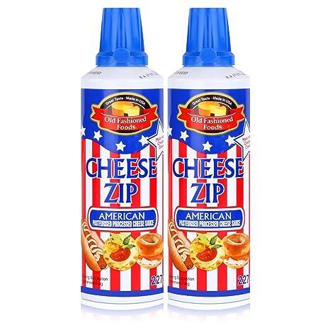 Old Fashioned Foods Cheese Zip 227g Amerikanischer Sprühkäse Cheddar ...
