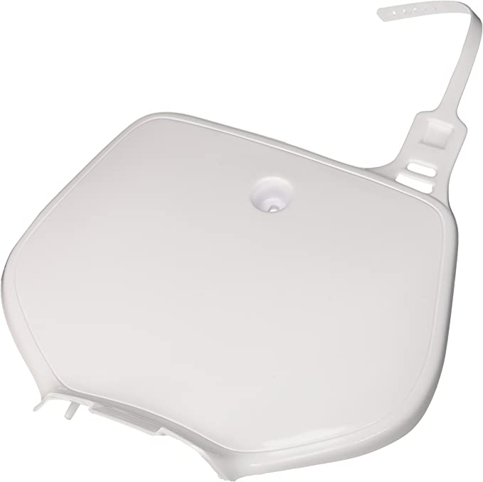 for Yamaha FRT #Plate YZ 92-99 White UFO YA02853046 Replacement Plastic