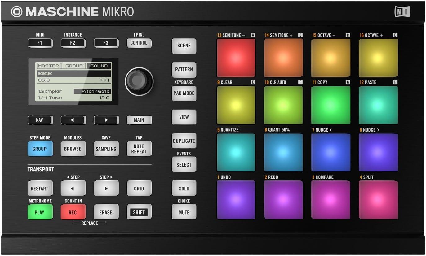 Mikro MK2  vs Maschine MK2