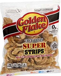 product image for Golden Flake Super Cracklin Strip w/Red Pepper Seasoning 3.0 oz (Pack 4)