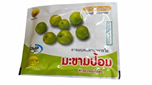 12 Packets of Ma-Kham-Pom, Cough Lozenges by Thongtong Osoth. Relief for cough and expectorant. (10 Lozenges/ packet)