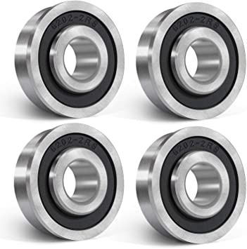 "Lawn Mower Wheel Precision Sealed Flanged Ball Bearing 1-3//8/"" OD x 3//4/"" ID"