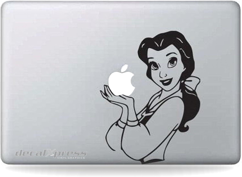 Disney Belle - Sticker Decal MacBook, Air, Pro All Models