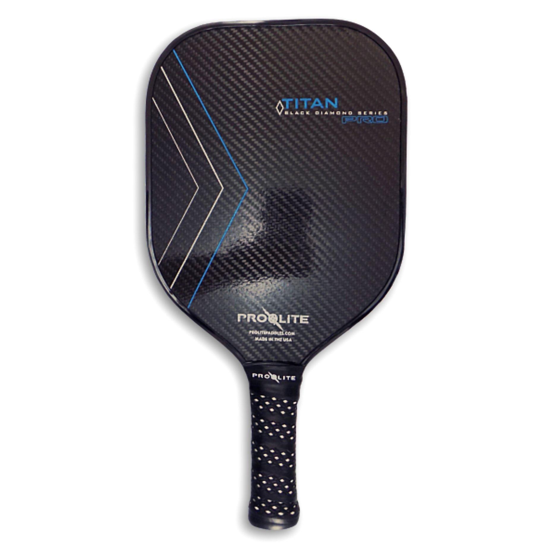 ProLite TITAN Pro - Black Diamond Series - Royal Blue Pickleball Paddle by Pro-Lite