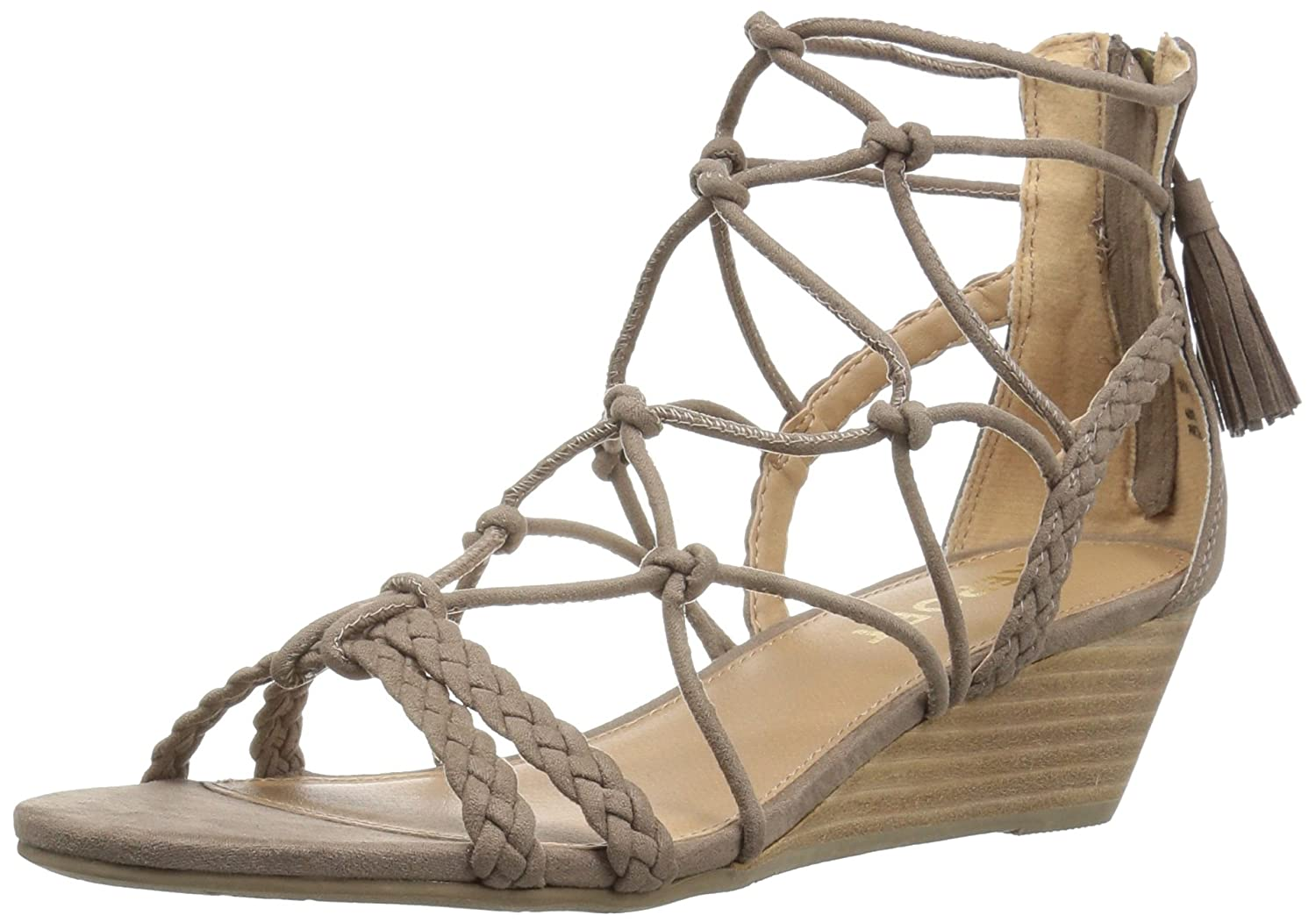 Report Women's Minnie Wedge Sandal B01LRIOHAW 9 B(M) US|Taupe
