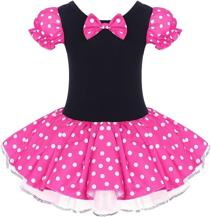 Amazon.com: Disfraz de princesa de lunares para niñas ...