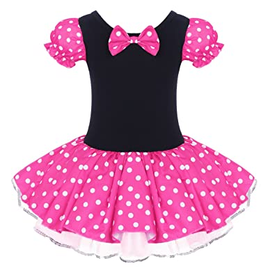 BEAUTIFUL MINNIE MOUSE EARS /& POLKA DOT TUTU SKIRT FOR KIDS COSTUME FANCY DRESS