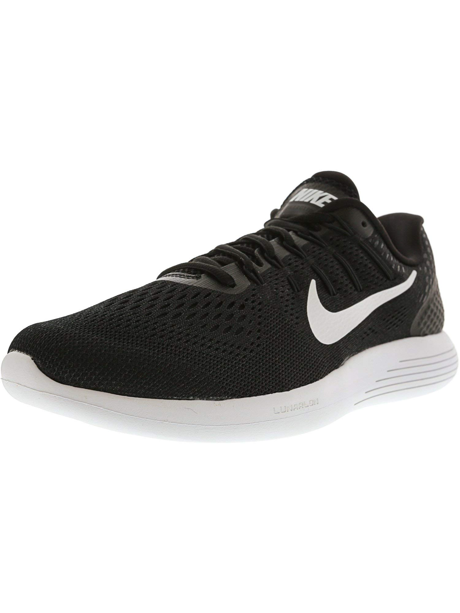 3736881ad23b85 Galleon - Nike Men s Lunarglide 8 Running Shoe Black White Anthracite Size  10.5 M US