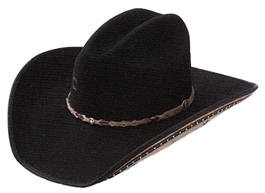 b1c955b54a32 Charlie 1 Horse Rising Star Color Black Cowboy Hat at Amazon Women's ...