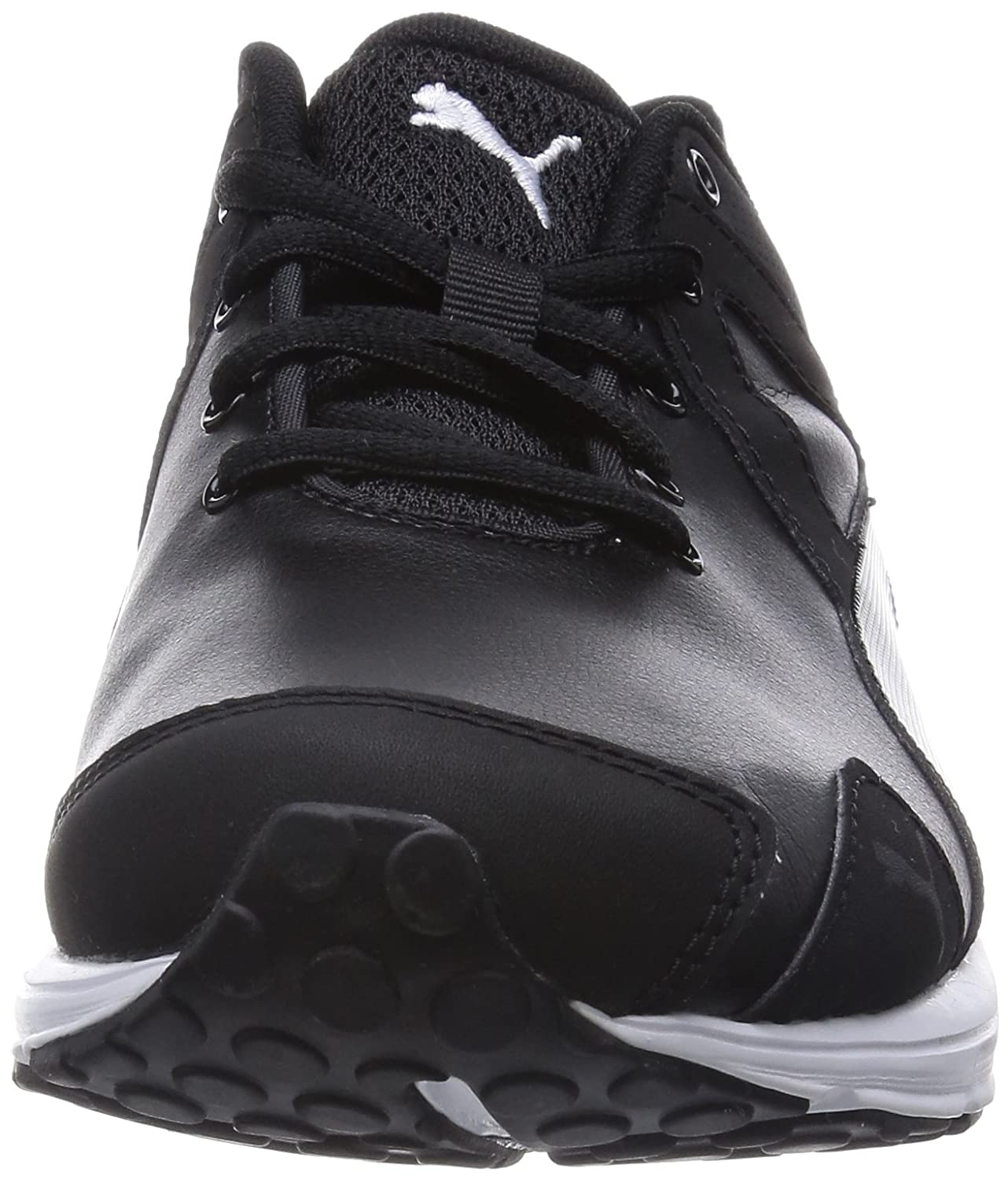 Evader Synthetic Leather, Womens Basketball Shoes, Black, 7 UK Puma