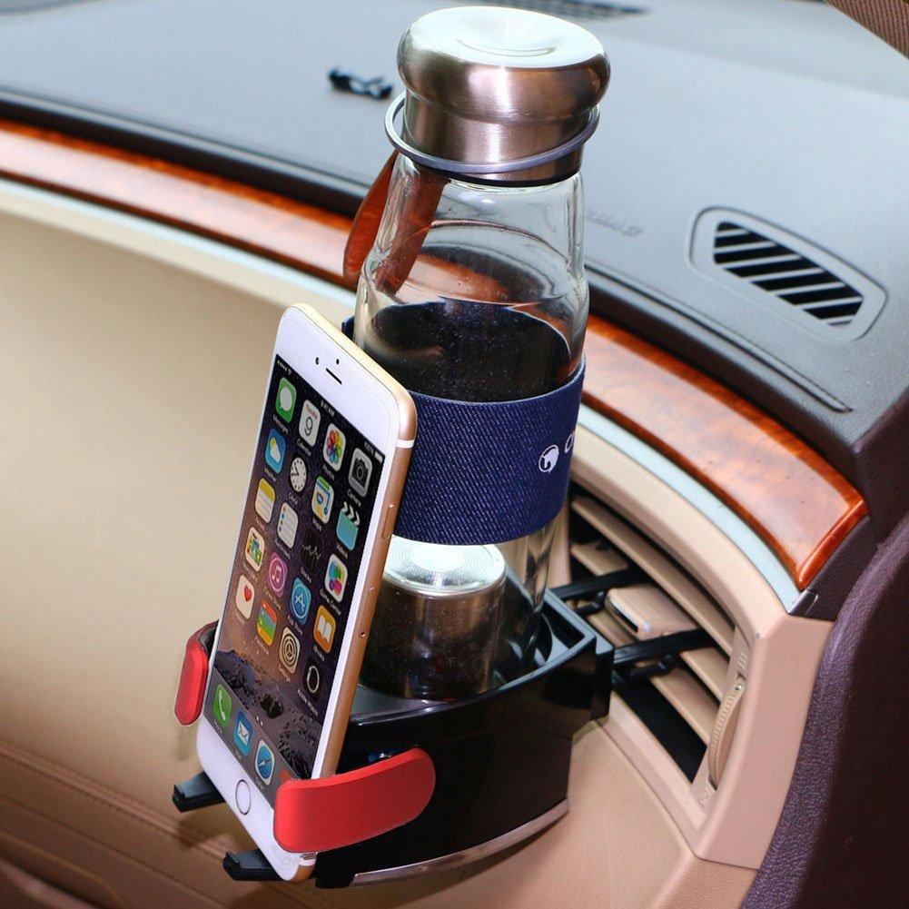 Auto L/üftungshalterung Handyhalterung,Getr/änkedosen Heater geeingnet f/ür alle phone Auto Getr/änkehalter,Multifunktion Getr/änkehalter,Getr/änkehalter Air Cooler
