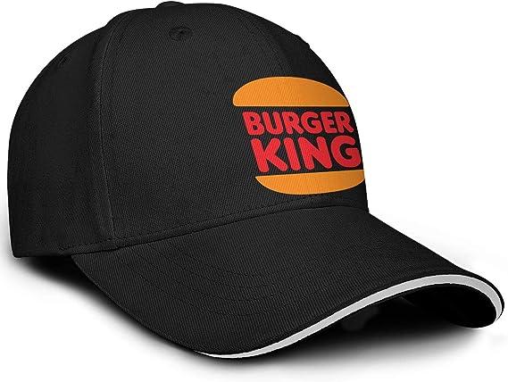 Burger-King-Logo - Gorra de béisbol para Hombre con Malla ...