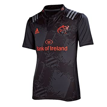 4950ff698 Adidas maillot rugby Juniors Munster 2015 16 exterieur Rugby Jersey – Dark  Grey   Bright