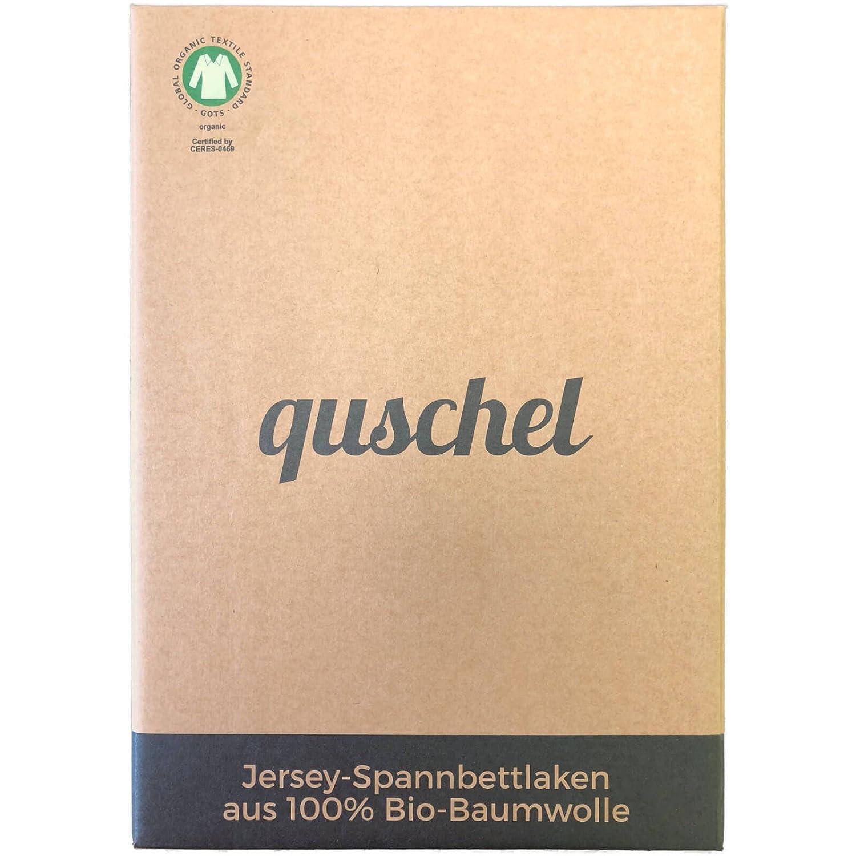 Baumwolle STERNE: 2er Pack Spannbettlaken 70x140 wei/ß-grau Wundersch/öne Baby-Bett-Ausstattung aus Jersey