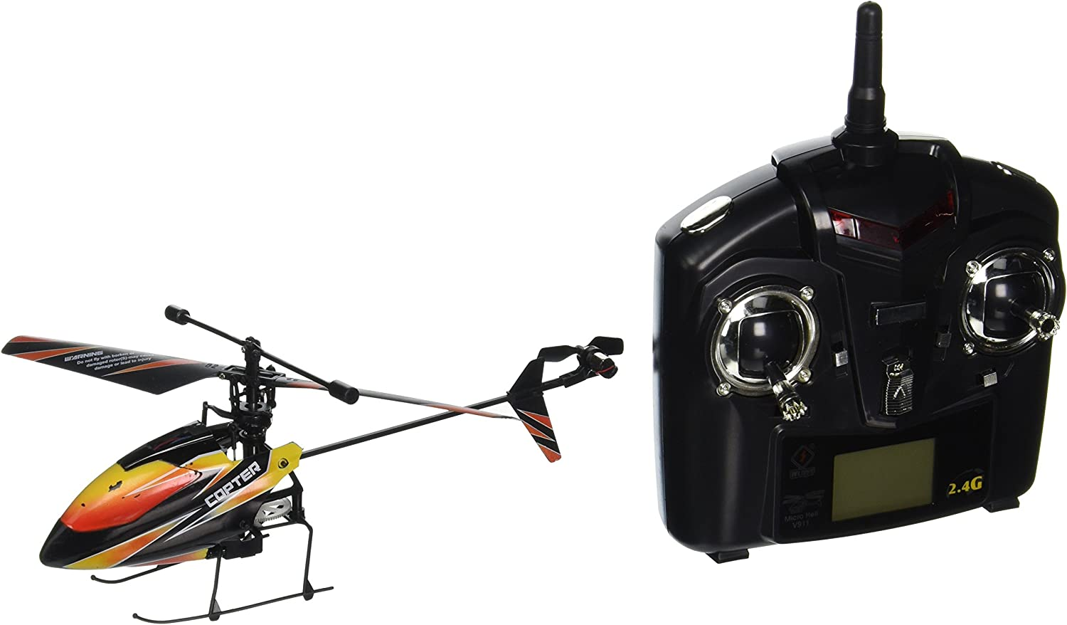 New WL V911 4 CH Single Rotor Helicopter Version 2 *New & Improved ...