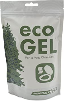 Eco Gel Port-A-Potty and Emergency Toilet Chemicals