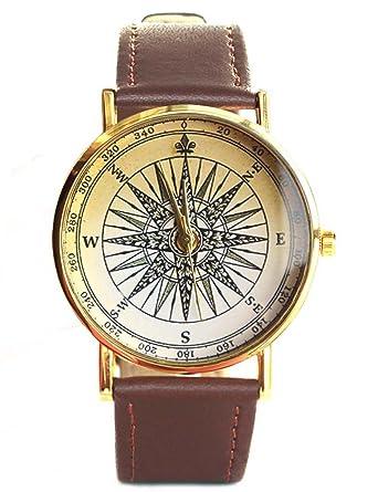 Compass watch world map men women watch lyin amazon watches compass watch world map men women watch gumiabroncs Gallery
