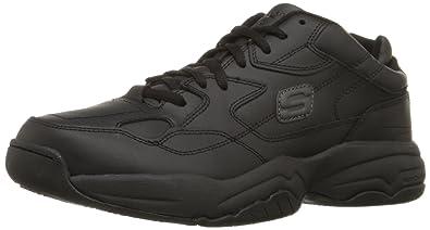1c654e6ac57 Skechers for Work Men's 76690 Keystone Sneaker
