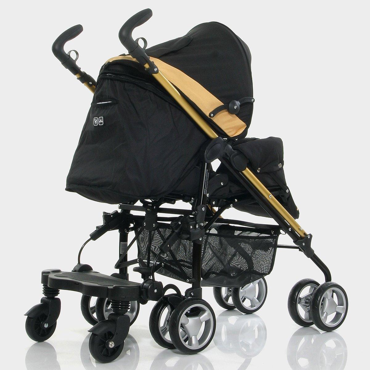 Black ABC Design Kiddie Ride-on Board