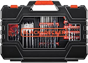 BLACK+DECKER Drill & Screwdriver Bit Set, 201-Piece (BDA90201)