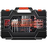 BLACK+DECKER BDA90201 201-Piece Screwdriver & Drill Bits Set