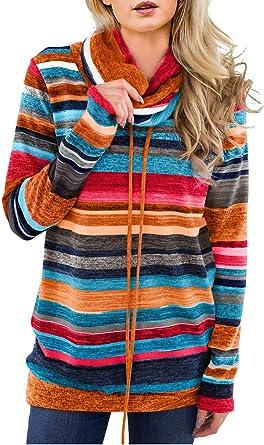 Women/'s Sweatshirt Hoodie Two-color Winter Zipper Pocket Pullover Sweater Top