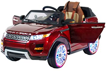 Amazon Com Range Rover Style Premium Ride On Electric Toy Car For