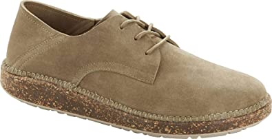BIRKENSTOCK Gary Suede Ginger Lace-up